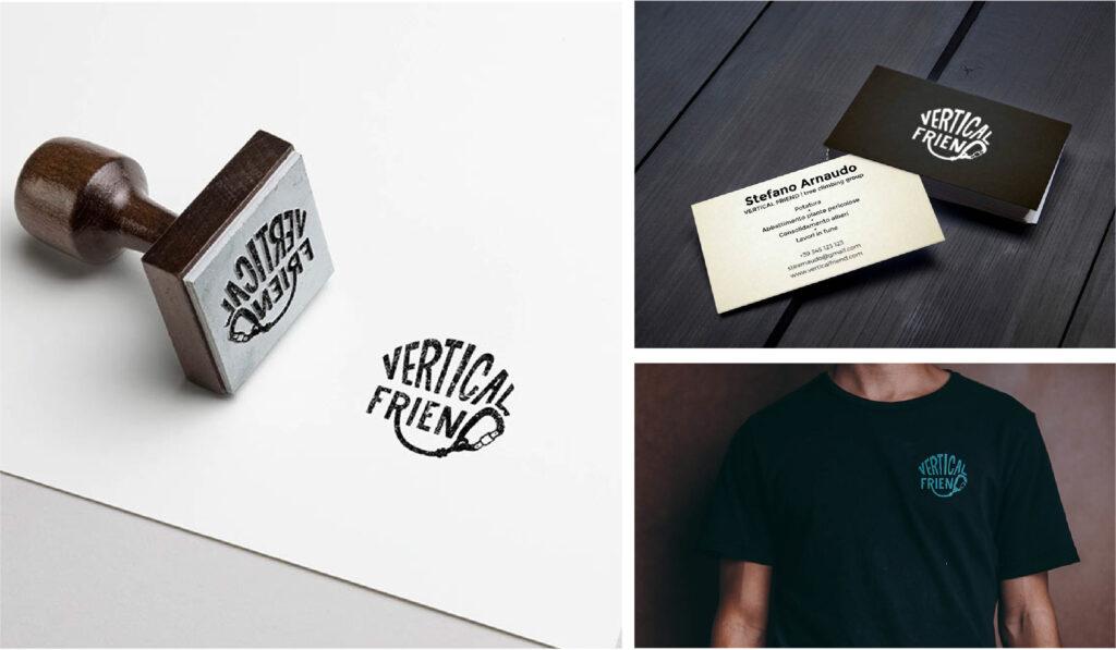 branding vertical friend logo